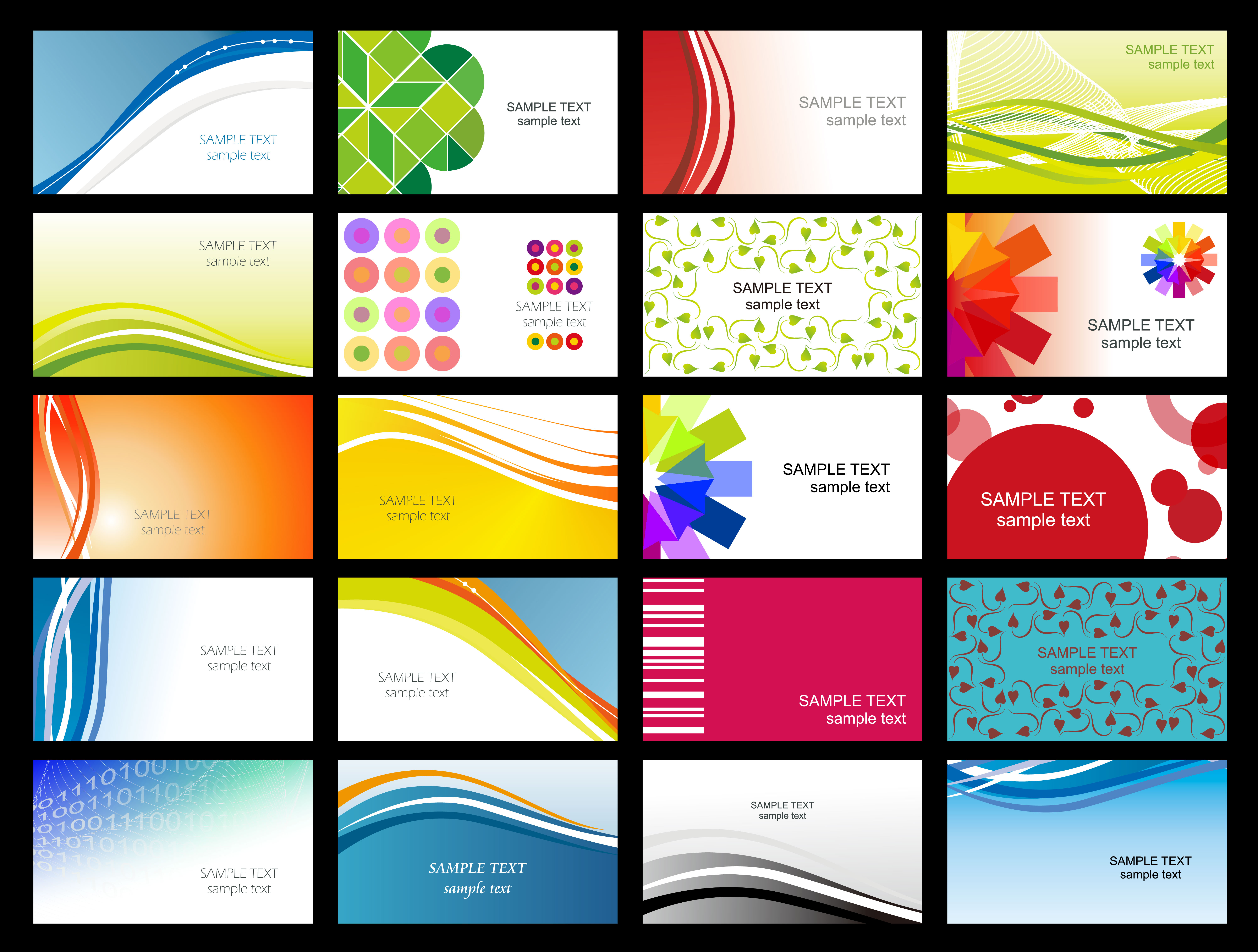 Free Printable Business Card Templates Sample   Get Sniffer - Free Printable Business Card Templates For Word