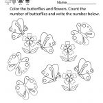 Free Printable Butterfly Worksheet For Kindergarten   Free Printable Butterfly Worksheets