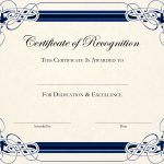 Free Printable Certificate Templates For Teachers | Besttemplate123   Free Printable Certificates For Students