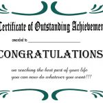 Free Printable Certificates And Awards To Include In Your Gift Basket   Free Printable Certificates Of Achievement