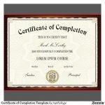 Free Printable Certificates | Certificate Templates   Certificate Of Completion Template Free Printable