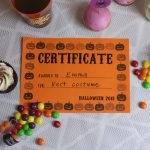 Free Printable Certificates For Halloween! | Our Halloween Party   Best Costume Certificate Printable Free