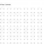 Free Printable Cetameter Dot Grid | Centimeter Dot Graph Paper For   Free Printable Square Dot Paper