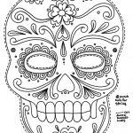 Free Printable Character Face Masks | Seasonal Activities | Skull   Free Printable Face Masks