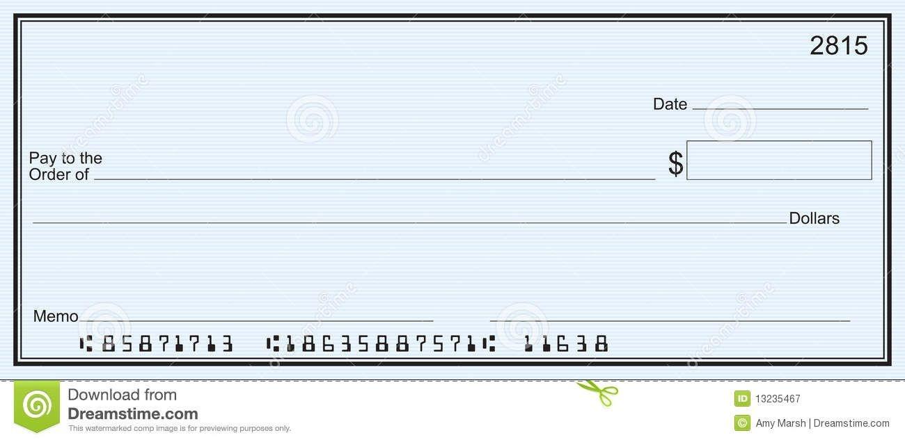 Free Printable Checks Template | Template | Templates Printable Free - Free Printable Checks Template