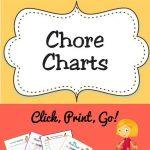 Free Printable Chore Charts For Kids | Acn Latitudes   Free Printable Chore Bucks
