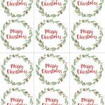 Free Printable Christian Christmas Gift Tags – Festival Collections   Free Printable Christian Christmas Gift Tags