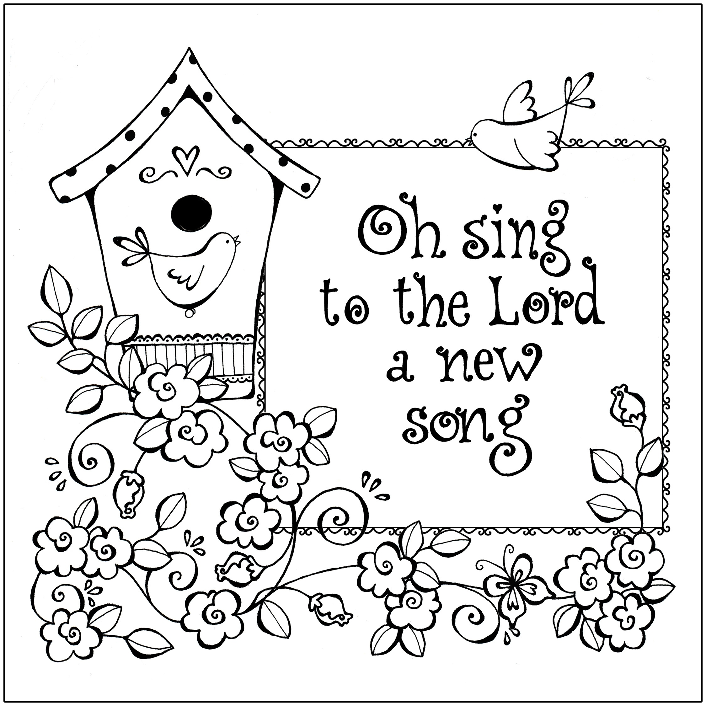 Free Printable Christian Coloring Pages For Kids - Best Coloring - Free Printable Bible Coloring Pages