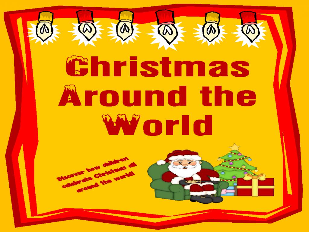Free Printable - Christmas Around The World From Homeschooled Kids - Christmas Around The World Free Printables