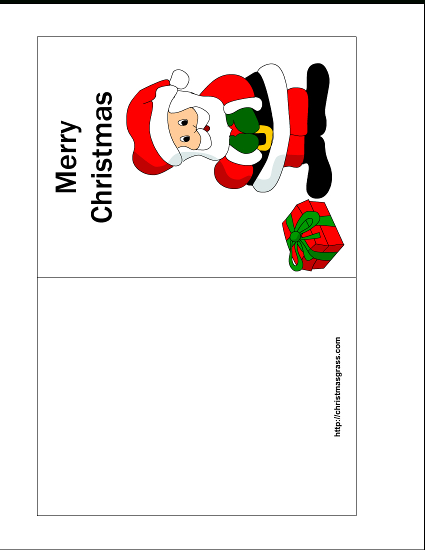 Free Printable Christmas Cards | Free Printable Christmas Card With - Free Printable Christmas Cards With Photo Insert