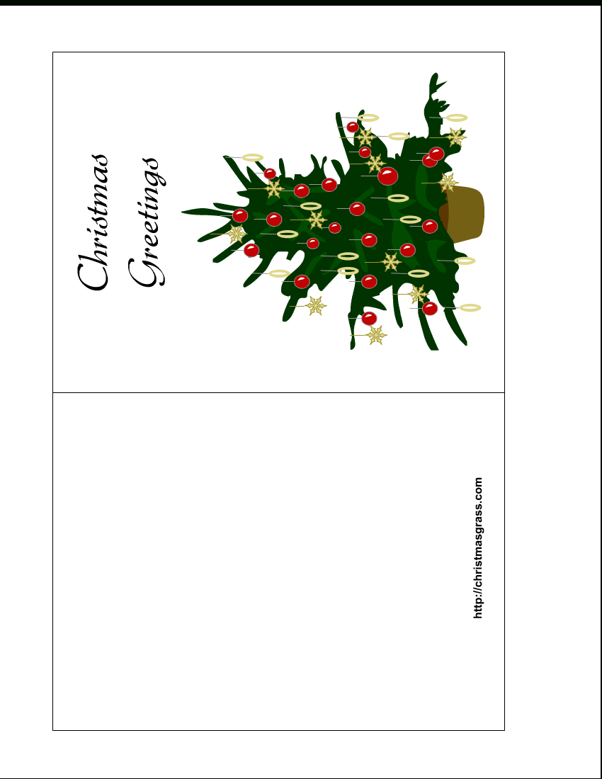Free Printable Christmas Cards | Holiday Greeting Card With - Free Printable Happy Holidays Greeting Cards