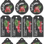 Free Printable Christmas Gift Tags   Bless'er House   Free Printable Angel Gift Tags