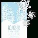 Free Printable Christmas Invitation Templates In Word!   Free Printable Christmas Templates