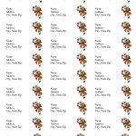 Free Printable Christmas Labels Templates | Christmas Address Labels   Free Printable Holiday Labels