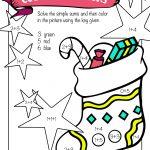 Free Printable Christmas Math Worksheets: Pre K, 1St Grade & 2Nd   Free Printable Math Coloring Worksheets For 2Nd Grade