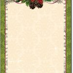 Free Printable Christmas Paper Stationery   Google Search   Free Printable Christmas Stationary Paper