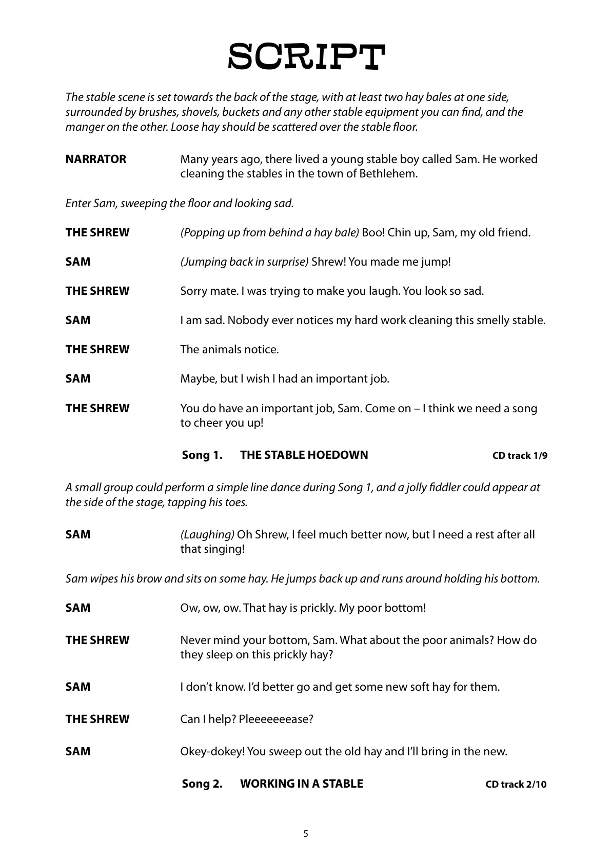 Free Printable Christmas Play Scripts – Festival Collections - Free Printable Play Scripts