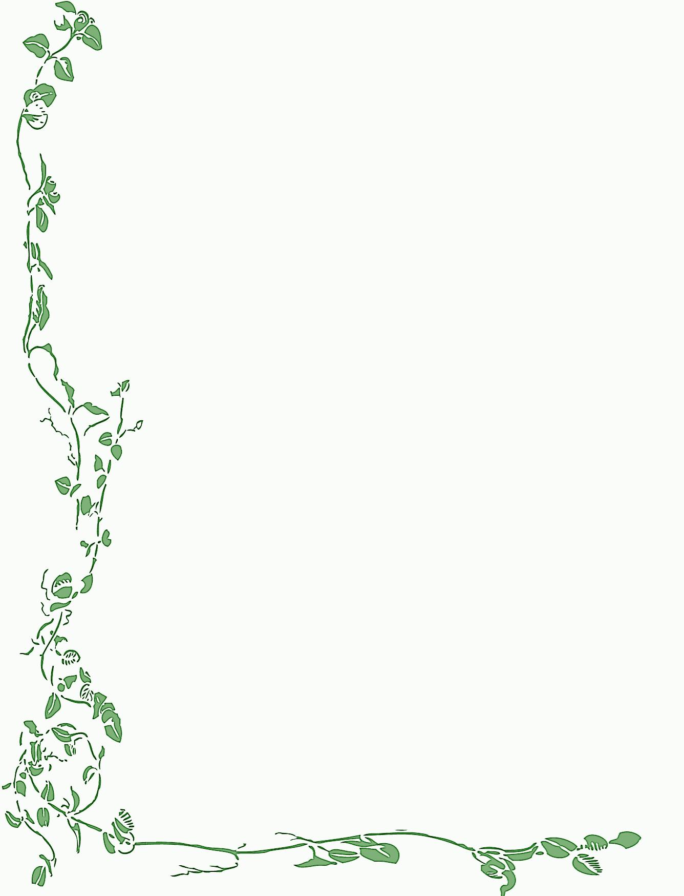 Free Printable Christmas Stationary Borders | Free Printable Spring - Free Printable Stationary Borders