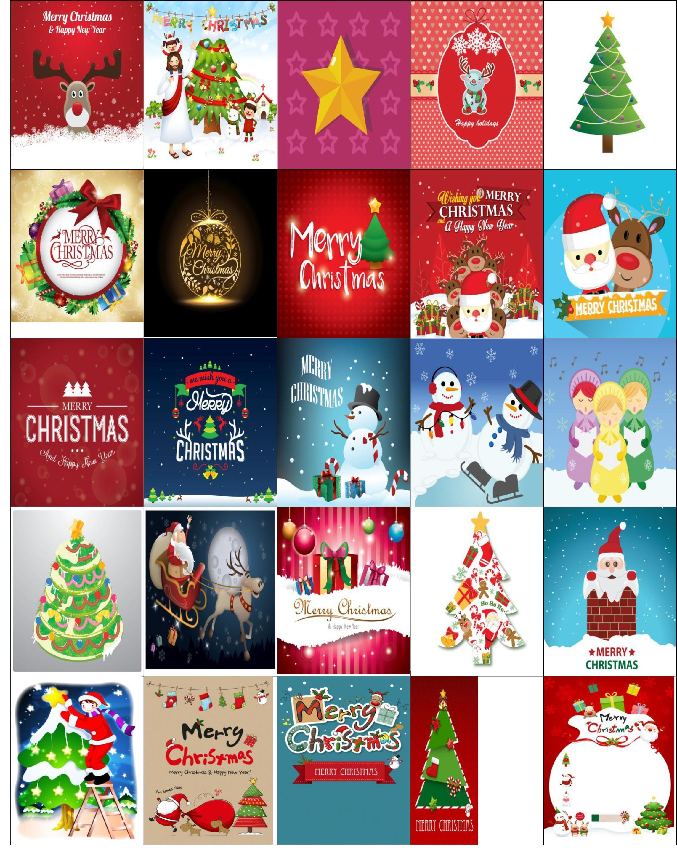 Free Printable-Christmas Stickers For Your Happy Planner | Free - Free Printable Holiday Stickers