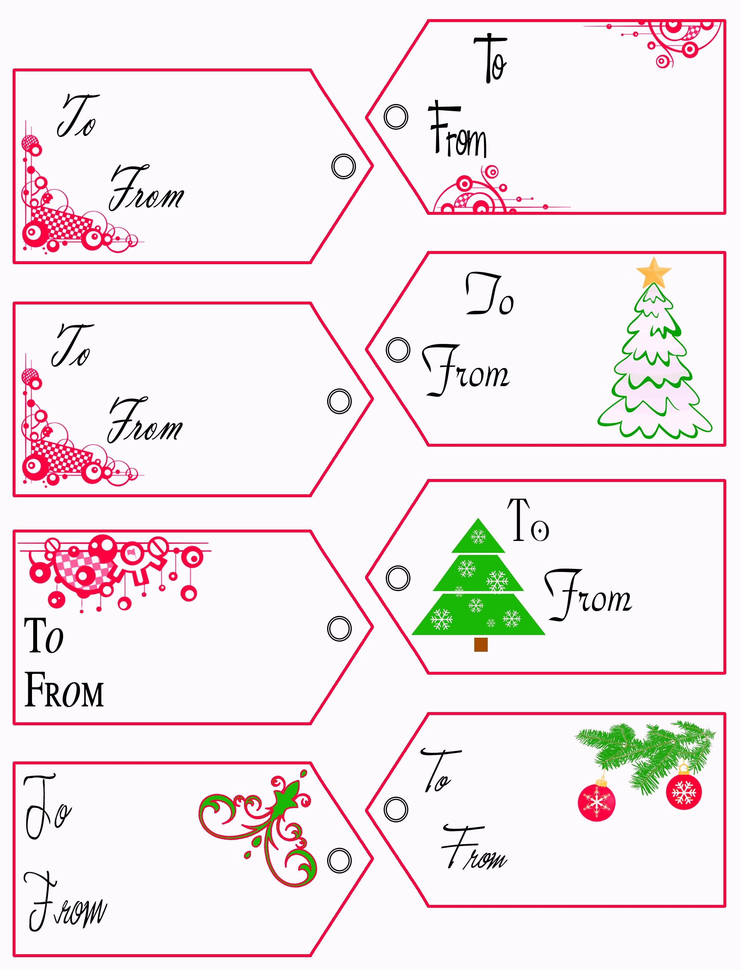 Free Printable Christmas Tags Templates – Pictimilitude - Free Printable Tags Templates