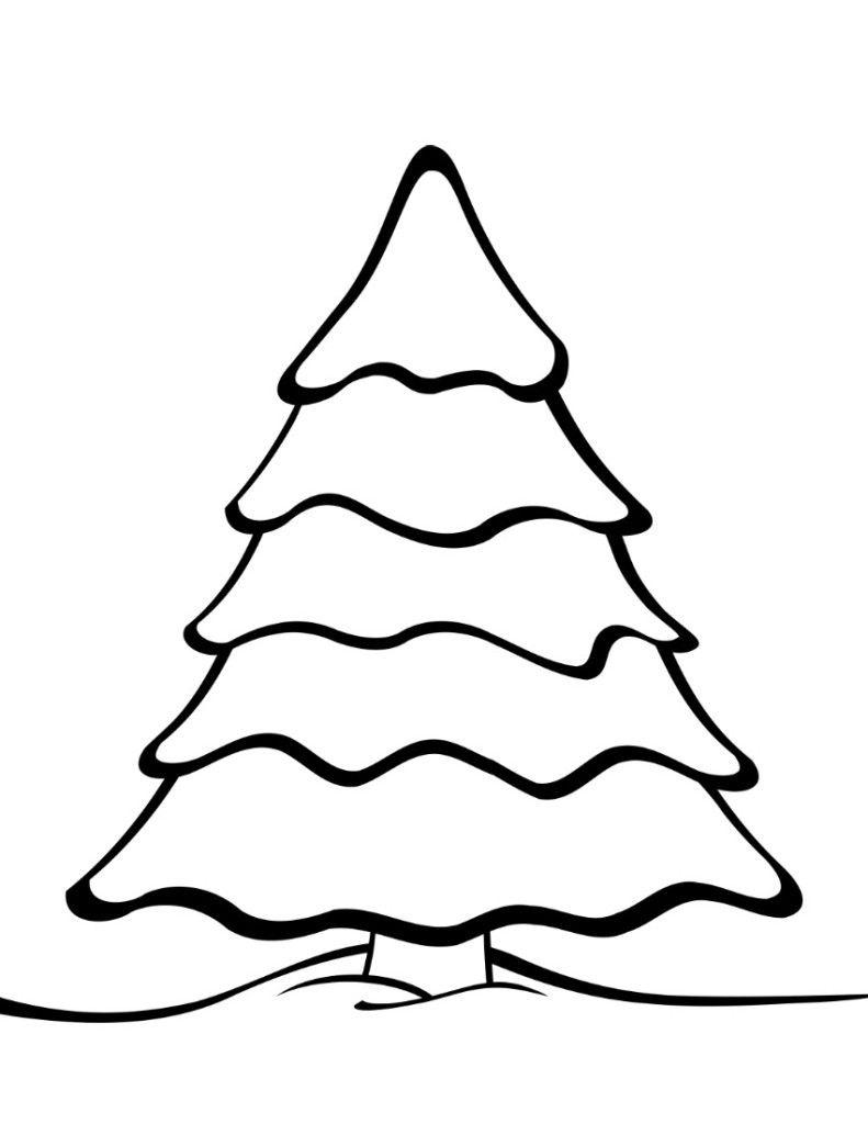 Free Printable Christmas Tree Templates | Christmas | Colorful - Free Printable Christmas Tree Template