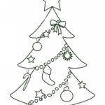 Free Printable Christmas Tree Templates   Coloring Home   Free Printable Christmas Templates