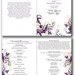 Free Printable Church Anniversary Program | Lazine   Free Printable Church Programs
