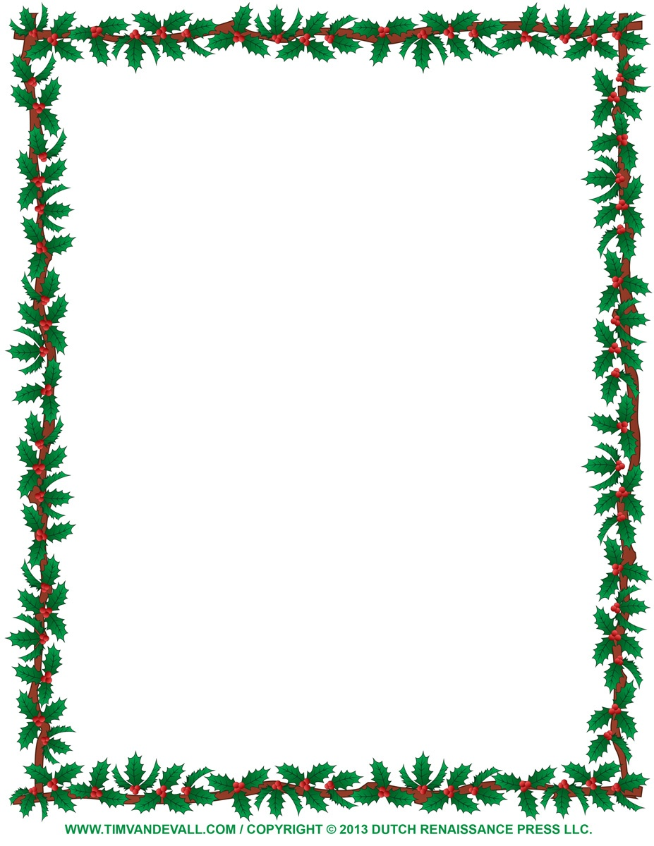 Free Printable Cliparts Borders, Download Free Clip Art, Free Clip - Free Printable Page Borders Christmas