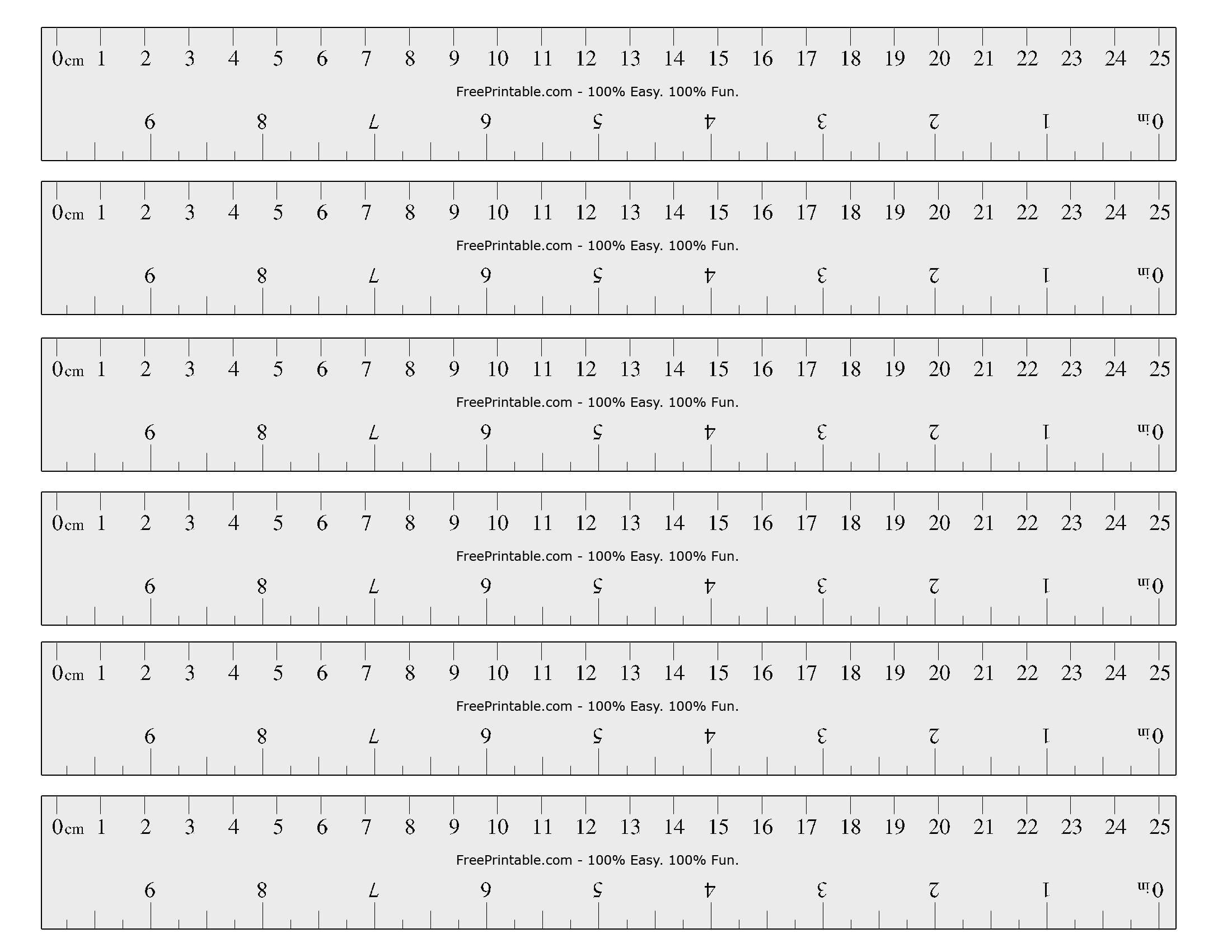Free Printable Cm/inch Ruler | Math Mania!! | Printable Ruler, Free - Free Printable Cm Ruler