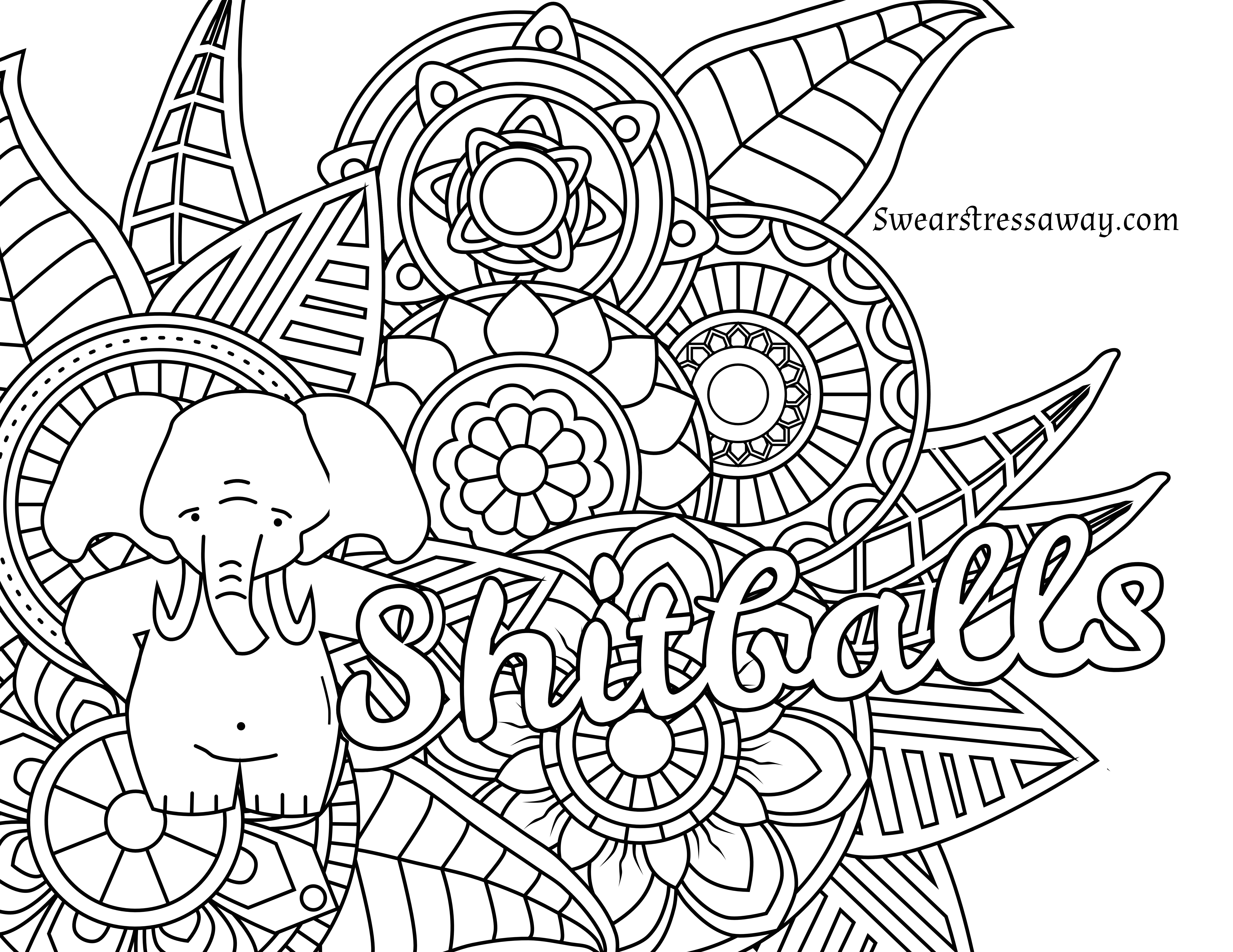 Free Printable Coloring Pages Adults Only Free Printable Coloring - Free Printable Coloring Designs For Adults