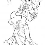 Free Printable Coloring Pages Princess Jasmine – Through The   Free Printable Princess Jasmine Coloring Pages
