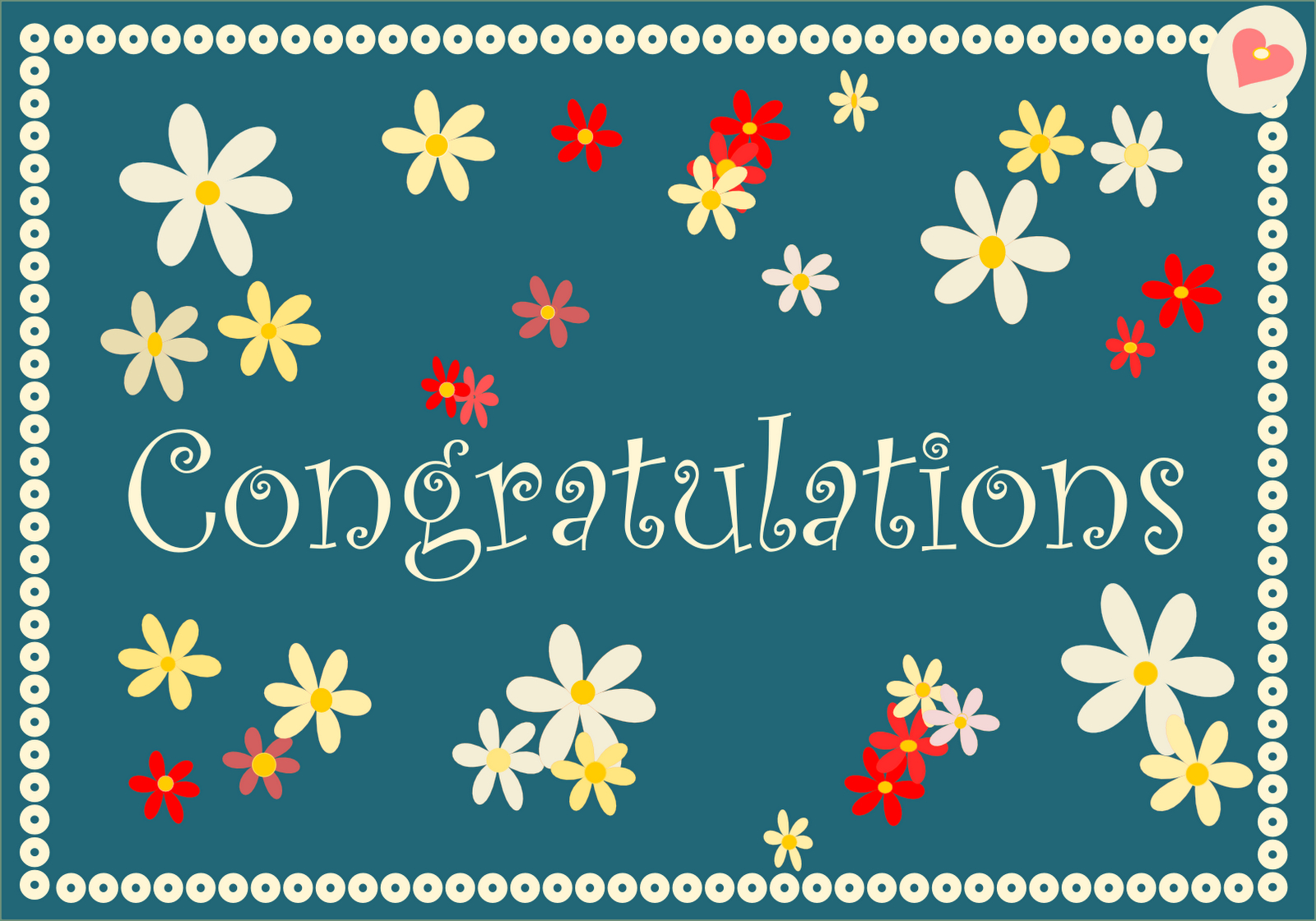 Free Printable Congratulations Cards In Retro Colors - Ausdruckbare - Free Printable Congratulations Cards