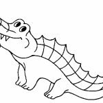 Free Printable Crocodile Coloring Pages For Kids   Free Printable Pictures Of Crocodiles