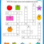 Free Printable Crosswords With Top 10 Benefits For Our Kids   Free Printable Puzzles For Kids