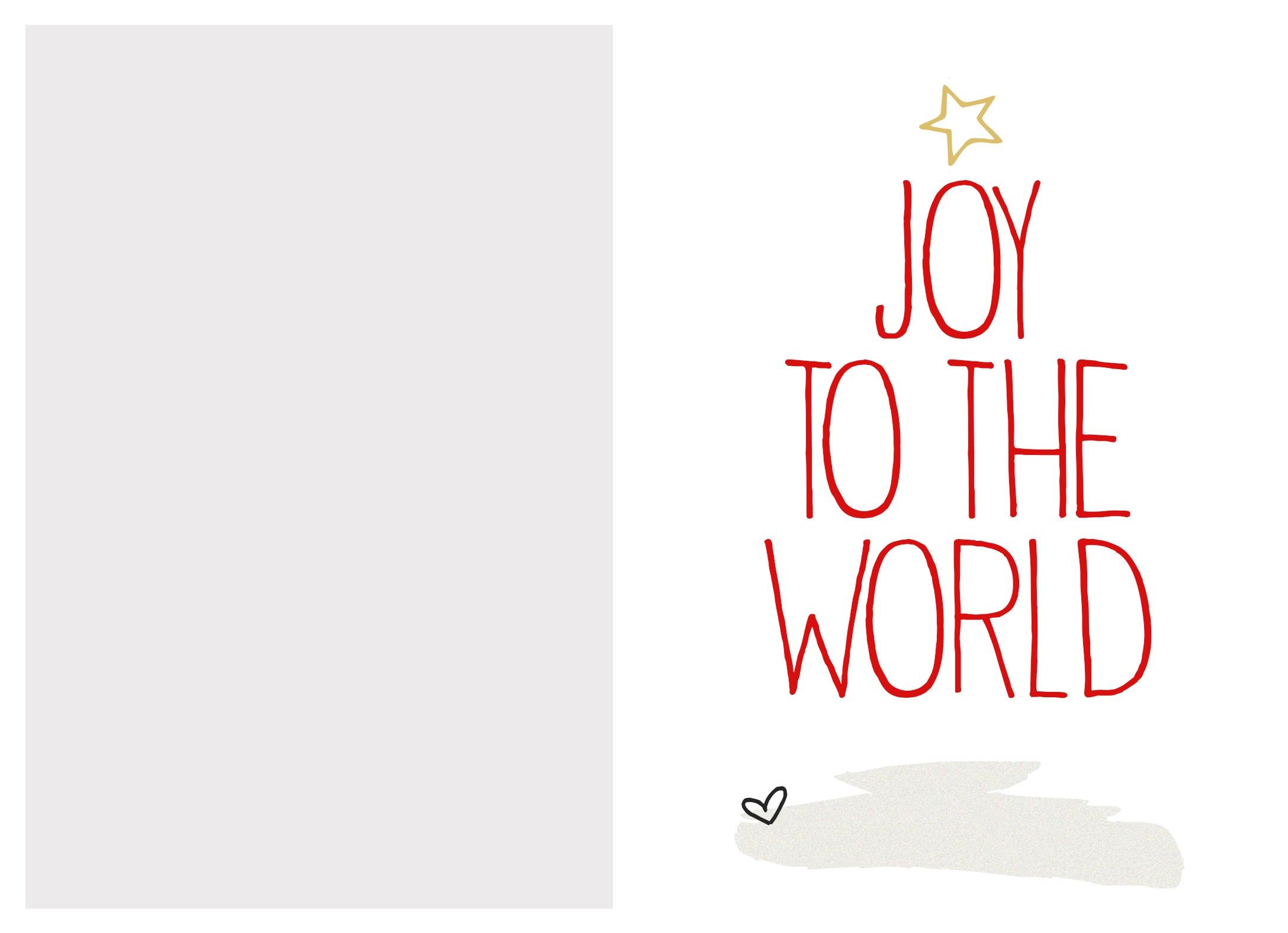 Free Printable Custom Christmas Cards - Tutlin.psstech.co - Free Printable Card Templates
