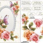 Free Printable Decoupage Card Templates   Google Search | 3D   Free Printable Decoupage Flowers