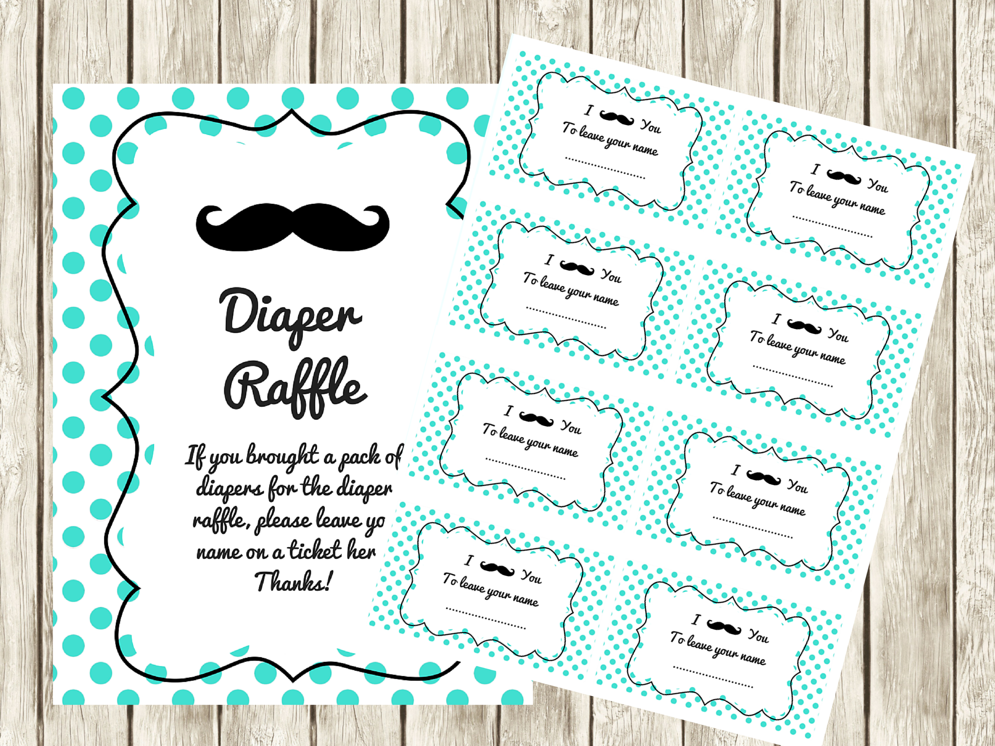 Free Printable Diaper Raffle Tickets For Baby Shower - Image - Free Printable Diaper Raffle Tickets For Boy Baby Shower