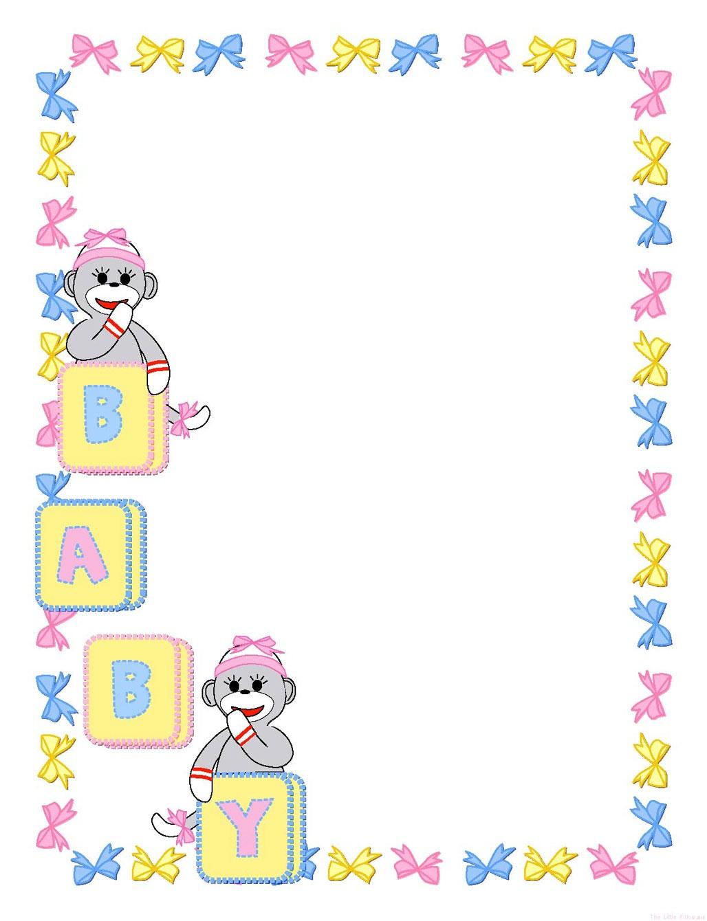 Free Printable, Digital, Scrapbook Template Pages, New Born, Baby - Baby Scrapbook Templates Free Printable