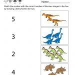 Free Printable Dinosaur Worksheet For Kindergarten   Free Printable Dinosaur Activities For Kindergarten