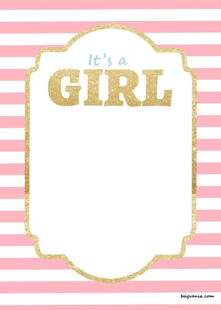 Free Printable Disney Baby Shower Invitations | Baby Shower - Free Printable Baby Shower Invitations For Girls