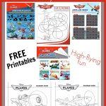 Free Printable Disney Planes Activities & Coloring Sheets   Free Disney Activity Printables