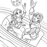 Free Printable Disney Princess Tangled Rapunzel Colouring Pages For   Free Printable Tangled
