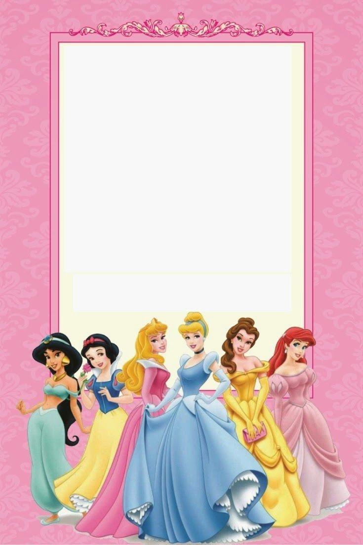 Free Printable Disney Princess Ticket Invitation | Disney - Free Printable Princess Jasmine Invitations