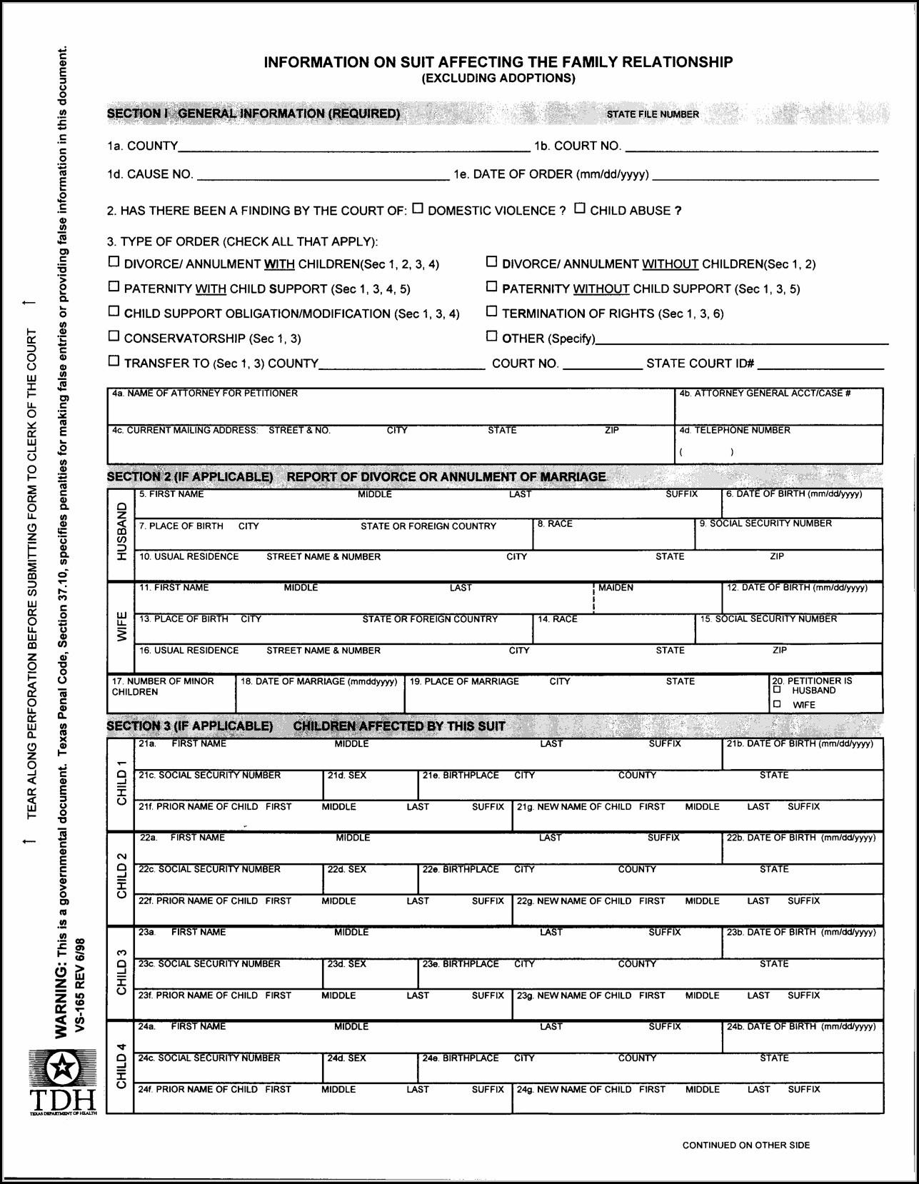 Free Printable Divorce Forms Texas - Form : Resume Examples #n48Mzeb1Yz - Free Printable Divorce Forms Texas
