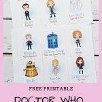 Free Printable Doctor Who Valentines | Valentine's | Doctor Who   Free Printable Doctor Who Valentines