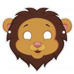 Free Printable Download! Use Our Lion Mask To Act Out Our Lion And   Free Printable Lion Mask