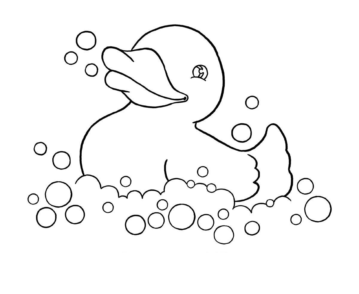 Free Printable Duck Coloring Pages For Kids - Free Duck Printables