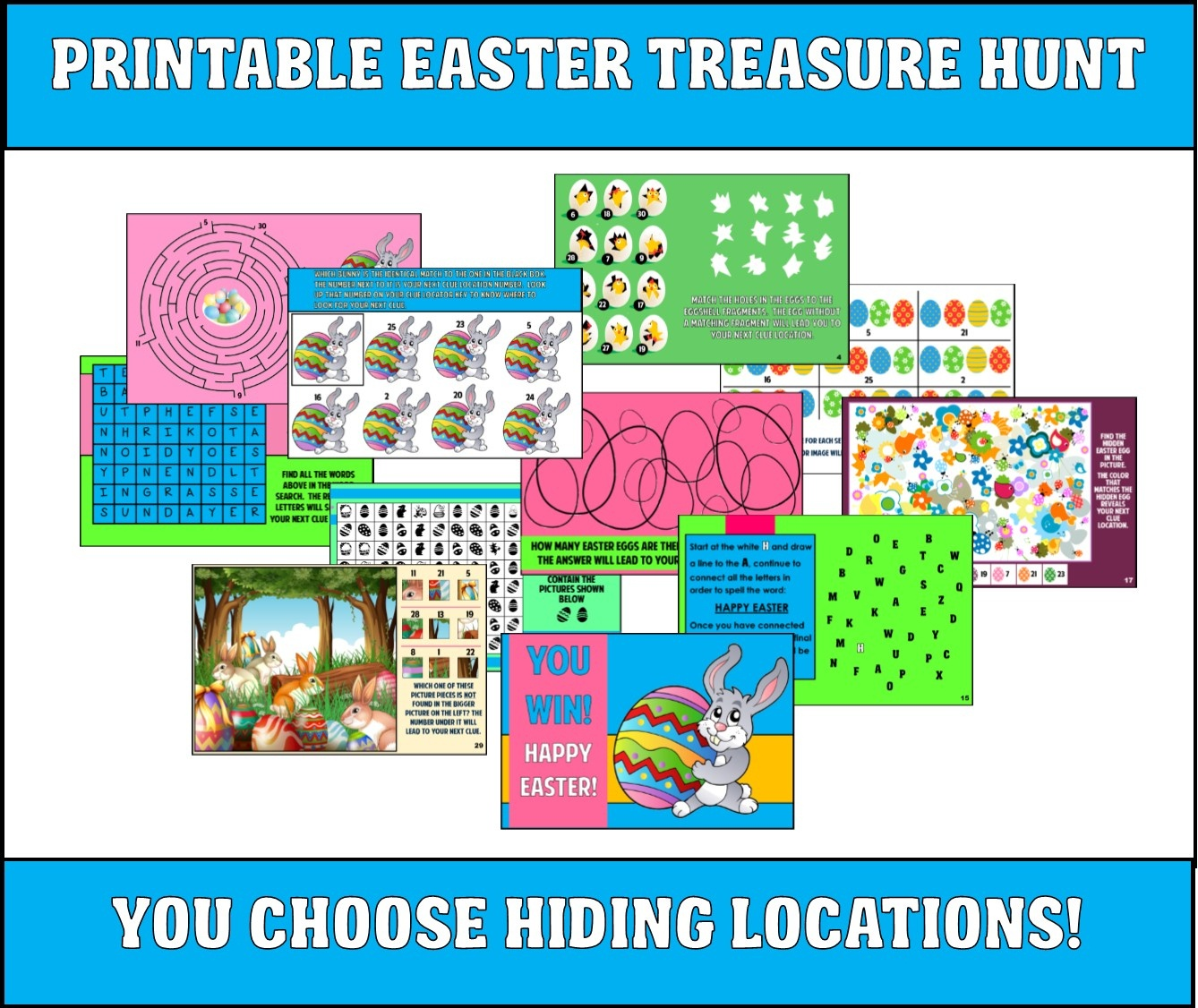 Free Printable Easter Mystery Games – Hd Easter Images - Free Printable Mystery Games