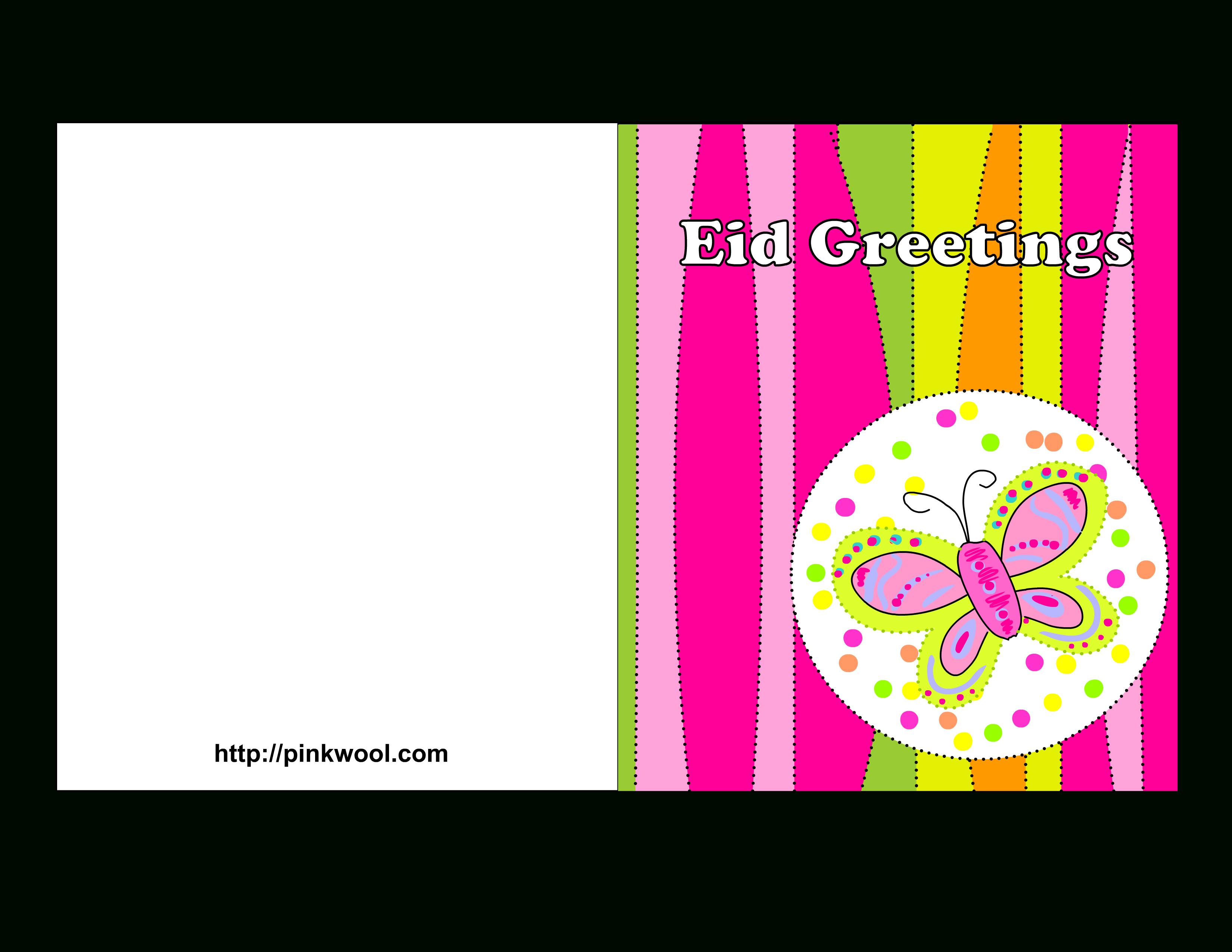 Free Printable Eid Greeting Cards - Free Printable Greeting Card Templates