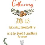 Free Printable Fall Party Invitations   Demir.iso Consulting.co   Free Printable Fall Festival Invitations